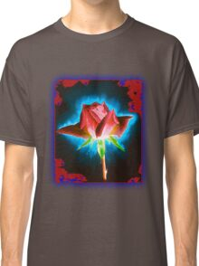 Rose on Black Classic T-Shirt