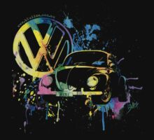 Volkswagen Beetle Splash by BlulimeMerch