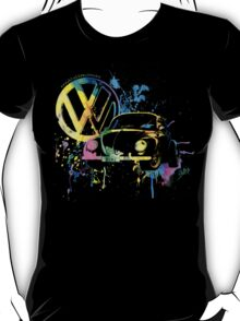 Volkswagen Beetle Splash T-Shirt