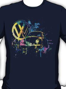 Volkswagen Beetle Splash T-Shirt