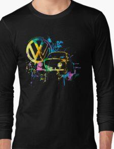 Volkswagen Beetle Splash © Long Sleeve T-Shirt