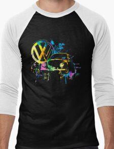 Volkswagen Beetle Splash © Men's Baseball ¾ T-Shirt