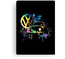 Volkswagen Beetle Splash © Canvas Print