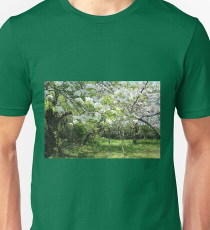 Pear and Apple Blossom Unisex T-Shirt