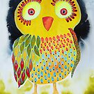Red Eye Owl by Bea Roberts