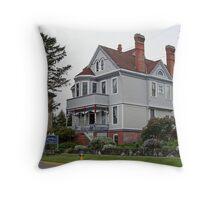 """Historic James House"" Throw Pillow"