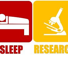 Eat Sleep Research Publish by michaelchua