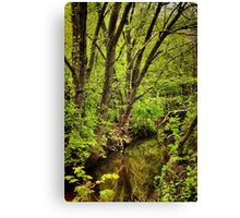 It's Easy Seeing Green Canvas Print