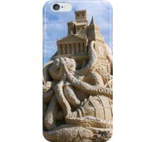 Sand Sculpture ~ a Tribute to Jules Verne iPhone Case/Skin