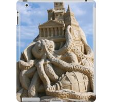Sand Sculpture ~ a Tribute to Jules Verne iPad Case/Skin