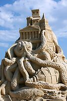Sand Sculpture ~ a Tribute to Jules Verne by SummerJade