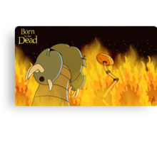 Born to be Dead- The Mecha Devil's ready to strike Canvas Print