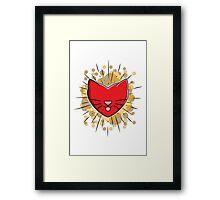 Kitty Lover Framed Print
