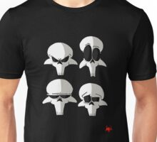 Born to be Dead- Skull faces (No Logo) Unisex T-Shirt