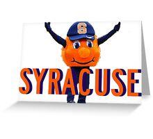 Syracuse Otto Greeting Card