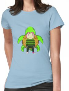 Turtle Cape Womens Fitted T-Shirt