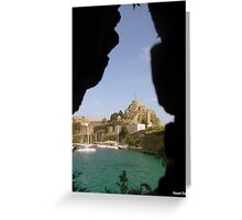 Old Fort Through The Wall Greeting Card
