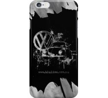 Volkswagen Beetle Splash BW © iPhone Case/Skin