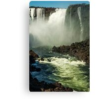 Down the Throat - Iguazu Gorge Canvas Print