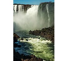 Down the Throat - Iguazu Gorge Photographic Print