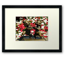Wanna Dance ??? Framed Print