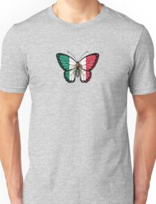 Mexican Flag Butterfly Unisex T-Shirt