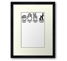 Gag Gifts Sex Framed Print