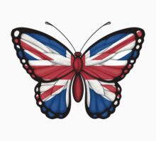 British Flag Butterfly by Jeff Bartels