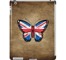 British Flag Butterfly iPad Case/Skin