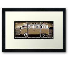 Volkswagen Kombi Classic Framed Print