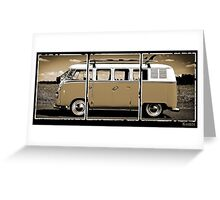 Volkswagen Kombi Classic © Greeting Card