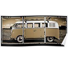 Volkswagen Kombi Classic Poster