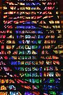 Stained Glass Detail, Rio de Janeiro by Carole-Anne
