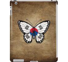 South Korean Flag Butterfly iPad Case/Skin
