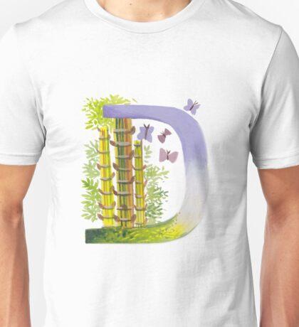 """Letter """"D"""" Siacabuche Alphabet (Painting) Unisex T-Shirt"""