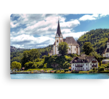 Maria Worth - Pilgrimage Church Canvas Print