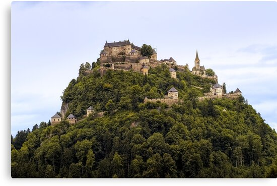 Hochosterwitz Castle by paolo1955