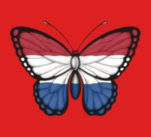 Dutch Flag Butterfly One Piece - Short Sleeve