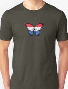 Dutch Flag Butterfly Unisex T-Shirt