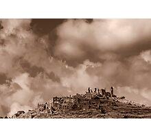 Ruins of Cirella Photographic Print