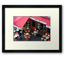 """Extra Old"" Café - Paris (version 2015) Framed Print"
