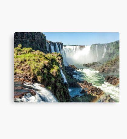 Around the Throat - Iguazu Falls Canvas Print