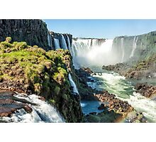 Around the Throat - Iguazu Falls Photographic Print