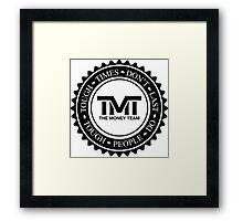 The Money Team Framed Print