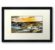 Water Cascades Framed Print
