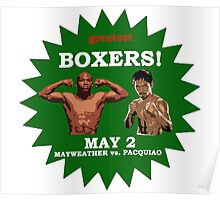 mayweather vs pacquiao Poster
