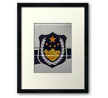 Police Car Framed Print