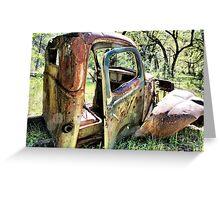 Rust Never Sleeps 6 Greeting Card