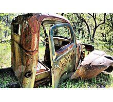 Rust Never Sleeps 6 Photographic Print