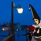 Mask at the Venice Carnival, Italy by Yen Baet